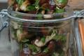 Salade de shiitaké aux fines herbes