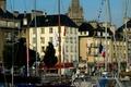 Le port de plaisance de Caen