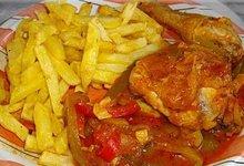 poulet à la catalane