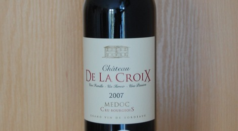 Château de la Croix – Médoc – Cru Bourgeois 2007
