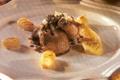 Pigeon de Bresse rôti en cocotte, adouci au sirop d'érable, gnocchis au safran et parmesan