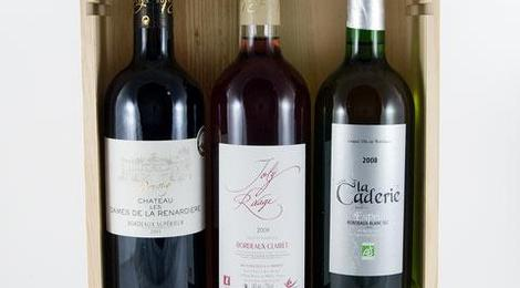 Coffret 3 couleurs Bordeaux