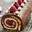Bûche roulée Chocolat, Framboise biscuit, coco citron vert