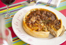 quiche tourangelle