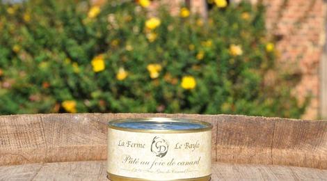Pâté au foie de canard 190g - Ferme le Bayle