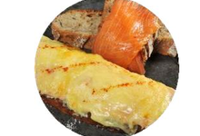 Tartine De Croque Saumon FumÉ