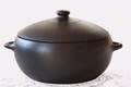 cocotte en poterie noire de Molelos AM47