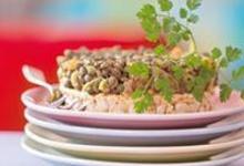Lentilles vertes du puy au curry