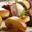 Magret de canard aux pommes