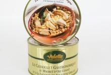 Le Cassoulet Gastronomique au Magret d'Oie Confit et à la Saucisse de Toulouse