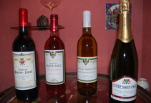 Mes differents vins