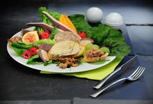 foie gras assiette