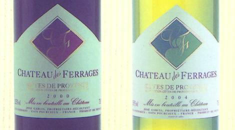 Château des Ferrages, cuvée collection
