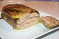Marbré de foie gras aux fruits secs et pain d'épices