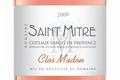 Domaine Saint Mitre, clos Madon