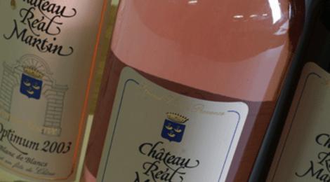 Château Real Martin, grand cuvée rosé