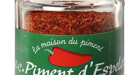AOC/AOP Piment d'Espelette - poudre 40g