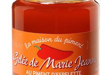 Gelée Marie -Jeanne au piment d'Espelette