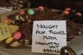 chocolat nougat, noix