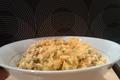 Recette de risotto safrané crevette-chorizo