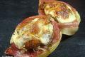 Fonds d'artichaut au jambon et à la tome de l'Aubrac