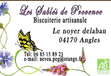 Les sablés de Provence