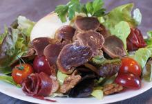 Vignal Gastronomie - Gésiers de Canard confit - Suggestion de présentation