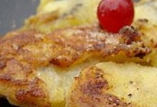 Omelette aux fruits
