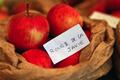 pomme rouge de la javie