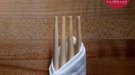 Entre fourchette et baguettes