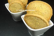 Sablés au fromage de Laguiole et amandes