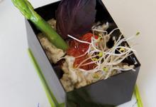 Tartinade d'esturgeon Sturia aux herbes fraîches et oeufs de saumon
