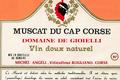 Muscat du Cap Corse, domaine de Gioielli