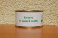 Préparation salade gésiers - Ferme de la Mude
