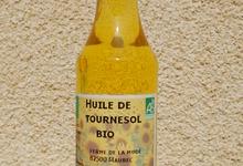 Huile de Tournesol Bio 50cl - Ferme de la Mude
