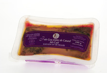 Foie Gras entier de canard Mi-cuit sur son lit de figues - Ferme Lafenêtre