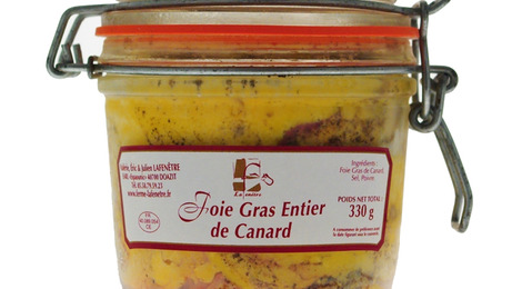 Foie Gras entier de canard 330g - Ferme Lafenêtre