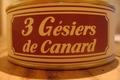 3 gésiers de canard confits