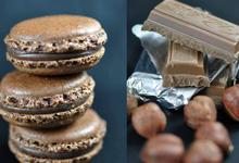 Macaron Chocolat praliné à la noisette de Cervioni