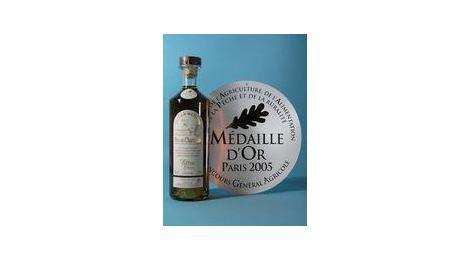 Ce pineau des Charentes a obtenu la Médaille d'or au Concours Général Agricole 2005.