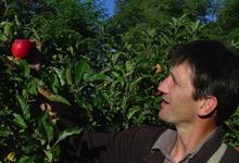 Domaine de Vernou, vergers de pommes