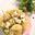 Salade de pommes de terre rattes et gros cubes de Chavignol