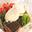 Papillote de cabillaud, Chavignol fondant et julienne de légumes