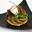 La tarte fine d'andouillette de Jargeau et sa chantilly à la Moutarde d'Orléans