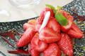 Le sablé aux fraises Gariguettes