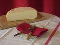 Quart de fromage fermier vache