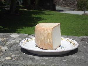 Quart de fromage fermier chèvre