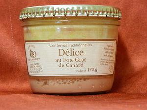 Délice au foie gras de canard