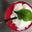 Gaspacho de betteraves aux prunes, mousse de roquefort