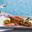 Homard bleu de nos côtes à la bière des 2 Caps et au gingembre, tagliatelles de légumes